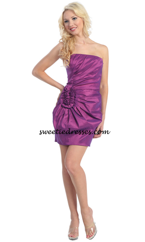 Fornal strapless dress
