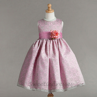 Elegance Double Layered Girl Dress